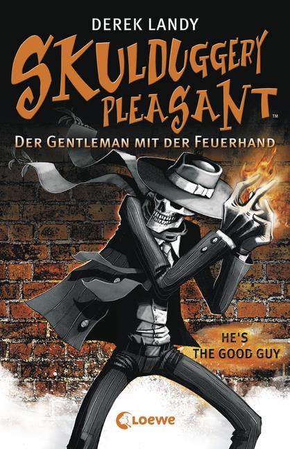 """Rezension """"Skulduggery Pleasant – Der Gentleman mit der Feuerhand"""""""