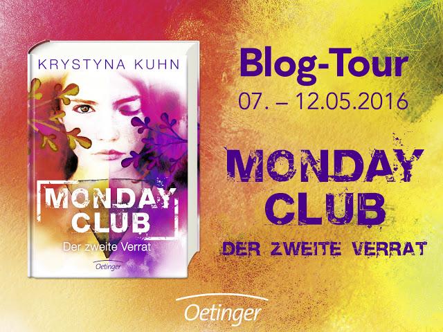 """[Blogtour] – """"Monday Club – Der 2. Verrat"""" von Krystyna Kuhn – TAG 3"""